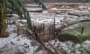 Trận mưa đá kinh hoàng gần 1h đồng hồ trút xuống Mù Cang Chải
