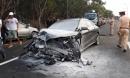 Hai ô tô đối đầu trên cao tốc khiến 4 người thương vong