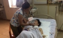 Người vợ bị chồng cắt cổ có hoàn cảnh đáng thương