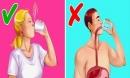 Uống nước đá lạnh mùa nắng nóng có thể làm chậm nhịp tim