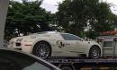 Bugatti Veyron của 'Qua Vũ' bất ngờ xuất hiện trên đường phố Sài Gòn