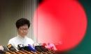 Lãnh đạo Hong Kong mở họp báo xin lỗi người dân: Tôi đã tự kiểm điểm sâu sắc sau những chuyện xảy ra