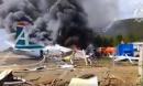 Video: Máy bay Nga bốc cháy ngùn ngụt sau cú hạ cánh khẩn cấp