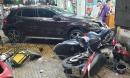 Nữ tài xế Mercedes tông hàng loạt xe máy ở TP.HCM khai gì tại cơ quan công an?