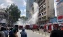 Cứu 28 người trong đám cháy ở ký túc xá Cao Thắng