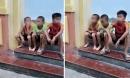 Ba anh em kiệt sức thoát khỏi xe ô tô của người đàn ông lạ