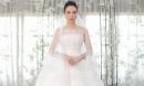 Cận cảnh chiếc váy cưới tuyệt đẹp trong hôn lễ Cường Đô La - Đàm Thu Trang