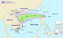 Áp thấp nhiệt đới giật cấp 8, di chuyển thần tốc vào Biển Đông