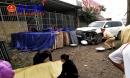 Lexus 570 biển ngũ quý 7 tông chết một phụ nữ ở Hà Nội