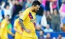 Messi cán mốc 500 bàn, Barca vẫn thua sốc