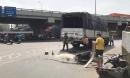 Người phụ nữ đi khám bệnh bị xe tải cán tử vong