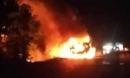 Gia Lai: Kinh hoàng chiếc xe bồn chở 12 ngàn lít xăng bốc cháy dữ dội