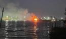 Cháy tàu chở xăng, 2 người chết, 1 mất tích trên sông Đồng Nai