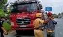 Tài xế lái xe đầu kéo tháo chạy sau va chạm giao thông khiến cô gái trẻ tử vong ở Sài Gòn