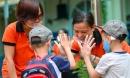 Trẻ mầm non tại TP.HCM trở lại trường sau gần 4 tháng nghỉ học