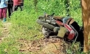 Nam thanh niên chết bất thường trên xe máy ven đường