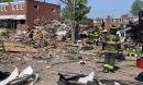 Mỹ: Sau tiếng nổ kinh hoàng, 3 ngôi nhà liền kề sụp đổ