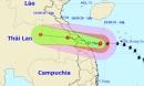 Bão số 5 tăng tốc, đổ bộ vào khu vực Quảng Bình - Quảng Nam gây mưa rất to