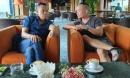 Hình ảnh hiếm hoi của MC Lại Văn Sâm và con trai Lại Bắc Hải Đăng gây chú ý