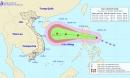 Bão số 8 đổ bộ vào Biển Đông từ đêm nay, có lúc giật cấp 14 và hướng vào miền Trung