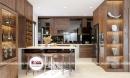 Tủ bếp gỗ óc chó - Sự lựa chọn hoàn mỹ cho gia đình Việt