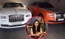 BST siêu xe nghe muốn xây xẩm mặt mày của bà Phương Hằng: Rolls-Royce mà màu trắng, đỏ, cam có hết!