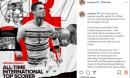 Ronaldo viết 'tâm thư' xúc động sau khi trở thành chân sút vĩ đại nhất cấp ĐTQG