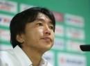 HLV Miura bảo vệ Công Vinh và không hài lòng với hiệp 1 trận gặp Lào