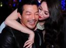 Khánh My ôm hôn thắm thiết Trần Bảo Sơn trong tiệc sinh nhật