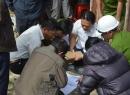 Khám nghiệm hiện trường vụ sập hầm thủy điện Đạ Dâng - Đạ Chomo