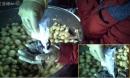Hãi hùng công nghệ tẩy màu khoai bằng hóa chất độc hại