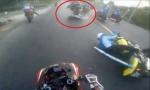 'Môtô cán qua nạn nhân có thể chạy hơn 100 km/h'