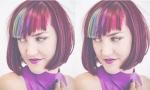 Trào lưu tóc mái nhuộm cầu vồng thu hút giới trẻ thế giới