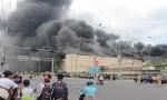 Đang cháy dữ dội tại KCN Trà Nóc, Cần Thơ