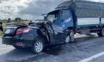 Vụ tai nạn đặc biệt nghiêm trọng khiến 3 người tử vong: Xe ô tô con chạy lấn làn
