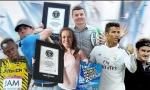 Cristiano Ronaldo nhận kỷ lục thế giới