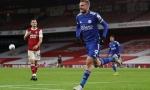 Vardy lập đại công, Leicester đánh sập pháo đài Emirates của Arsenal