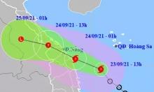 Tin bão khẩn cấp cơn bão số 6: Cách biển Bình Định 180km, giật cấp 10