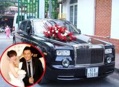 Mãn nhãn những chiếc Rolls Royce sao Việt dùng để đón dâu