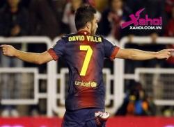 Video Barca - Alaves: Không Messi đã có Villa