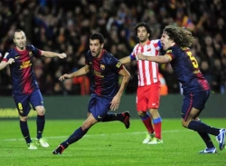 Barca - Atletico: Lội ngược dòng