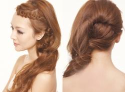 Valentine 2012: Video tạo kiểu tóc nữ tính và quyến rũ