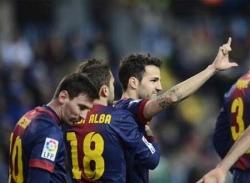 Malaga - Barca: Sức mạnh không thể công phá