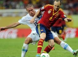Video Tây Ban Nha - Uruguay: Thế trận một chiều