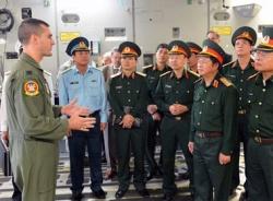 Tổng tham mưu trưởng quân đội Việt Nam lần đầu thăm Lầu Năm Góc