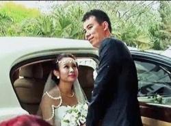 Rò rỉ clip đám cưới Huyền Baby với dàn xe sang rước dâu