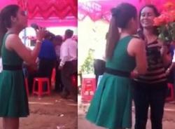 Cô gái hát 'Trách ai vô tình' trong đám cưới tình cũ