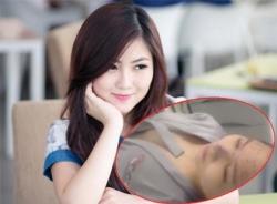 Hương Tràm bị  'ném đá' vì clip lộ vòng 1 trên bàn phẫu thuật thẩm mỹ