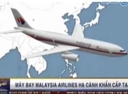 Thêm máy bay Malaysia Airlines hạ cánh khẩn cấp ở Hồng Kông