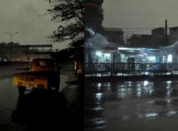 Hiện tượng kỳ lạ, ngày biến thành đêm ở TP Hạ Long
